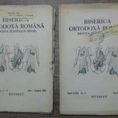 Biserica Ortodoxa Romana, buletinul oficial al Patriarhiei/ 1945