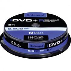 Mediu optic Intenso DVD-R 8.5GB 8x 10 bucati