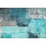 Covor 160x230 cm, albastru/gri, ESMARINA TIP 2
