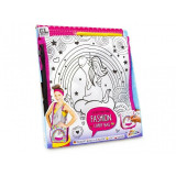 Set de creatie Coloreaza gentuta Unicorn Grafix, 5 ani+