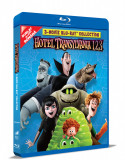 Hotel Transilvania 1, 2, 3: Colectie de 3 filme pe BLU-RAY / Hotel Transylvania 1, 2, 3 Movie BLU-RAY Collection Mania Film