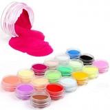Pudra acrilica set 18 culori