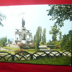 Ilustrata Drobeta Turnu Severin - Monumentul Eroilor din ww1 -anii '70