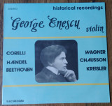 LP George Enescu ‎– Historical Recordings