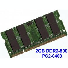 2GB DDR2-800 PC2-6400 800MHz , Memorie LAPTOP DDR2 , Testata cu Memtest86+