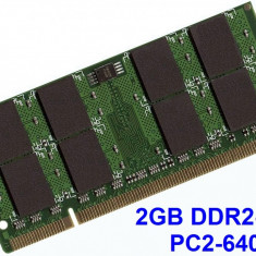 2GB DDR2-800 PC2-6400 800MHz , Memorie LAPTOP DDR2 , Testata cu Memtest86+, 2 GB