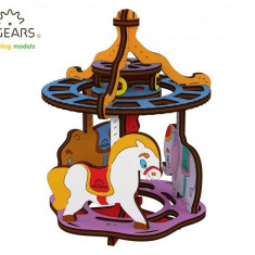 Puzzle din lemn Carousel