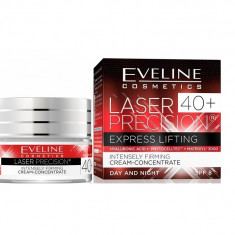 Crema de fata, Eveline Cosmetics, Laser Precision Express Lifting, 40+, SPF 8, 50 ml