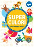 Cumpara ieftin SUPERCULORI. Colorăm după model (4+) Vol. 2