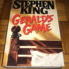 Stephen King - Gerald's Game editie de lux (noua)