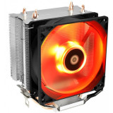 Cumpara ieftin Cooler CPU ID-Cooling SE-913-R Red, Multi socket, Iluminare LED
