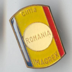 Insigna CIMA - IMAGREX - Industrie romaneasca