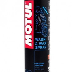 Spray intretinere moto, Motul WashWax Spray E9, 400ml