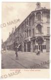 4337 - ORADEA, street stores, Romania - old postcard - unused