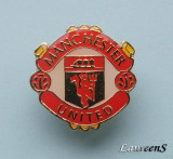 Insigna  Pin  Fotbal  -  MANCHESTER  UNITED