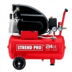 Compresor de aer Strend Pro Premium FL2024-08, 1.5 kW, 24 L, 8 Bar