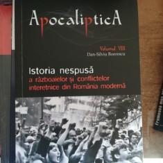 Apocaliptica, VIII: Istoria nespusa a razboaielor si conflictelor interetnice din Romania moderna