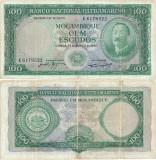 1961 (27 III), 100 escudos (P-109a.4) - Mozambic!