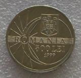 G5. Romania 500 lei 1999 eclipsa aUNC **
