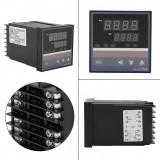 Cumpara ieftin Termostat digital electronic 0-400 °C PID controler REX-C700 FK02-M*AN