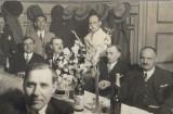 Angajati SAR de Telefoane Cluj la restaurant anii 1930