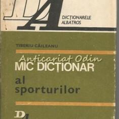 Mic Dictionar Al Sporturilor - Tiberiu Caileanu