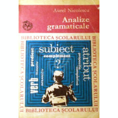 Analize gramaticale (1971)