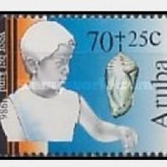 Aruba 1986 - Pentru copii, serie neuzata