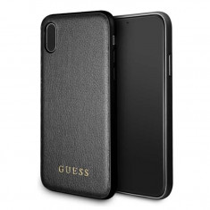 Husa Spate Guess Iridescent iPhone X/xs Negru