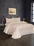 Cumpara ieftin Cuvertură de pat Valentini Bianco Satin Deluxe, model Bamboo Bej
