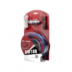 Kit Cabluri Audio Blow AW100 pentru Masina pentru Conectare Boxe, Subwoofere, Statii, Amplificatoare Auto