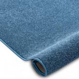 Mocheta SANTA FE albastru 74 simplu, culoare, solidă, 200 cm