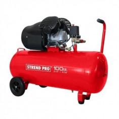 Compresor de aer Strend Pro Premium HSV-100-08, 2.2 kW, 100 l, 2 pistoane