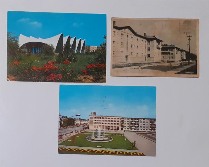 Lot 3 Carti Postale RSR BACAU, MOINESTI ONESTI, GH. GH. DEJ
