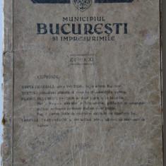 Planul Unirea - Municipiul Bucuresti si Imprejurimile, Ed. XI