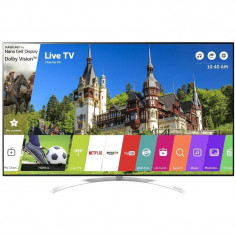Televizor LG LED Smart TV 55 SJ850V 139cm 4K Ultra HD White, 139 cm