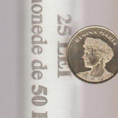 ROMANIA - 50 Bani 2019 - Regina MARIA - fisic BNR  cu 50 monede
