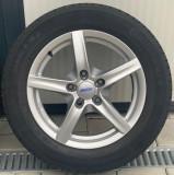 Roti/Jante BMW, Opel 5x120, 205/60 R16, Seria 3, 5, E90, E91, F30, F31, 16, 7, Alutec