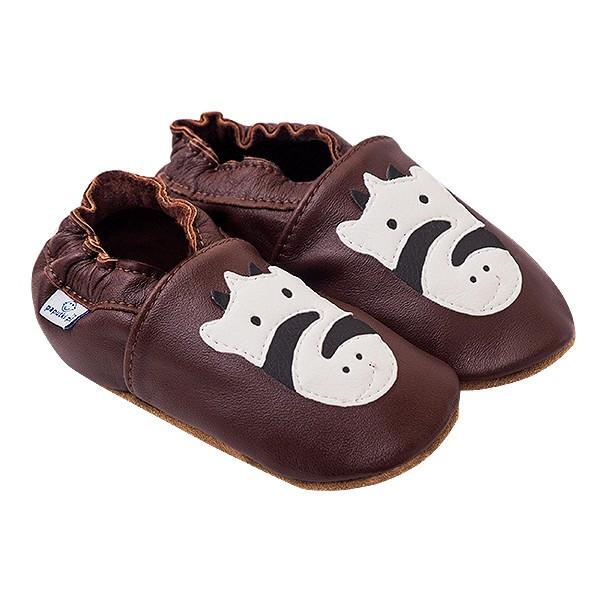 Papucei piele Striped Zebra