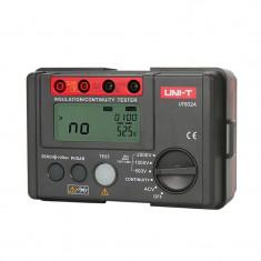 Multimetru rezistenta izolatie UT502A UNI-T, buzzer, afisaj auxiliar