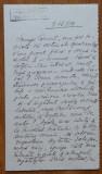 Scrisoare a poetei Claudia Millian , sotia lui Minulescu , catre Camil Petrescu