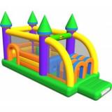 Spatiu de joaca gonflabil Profesional Castel cu obstacole