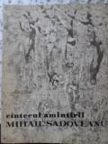 CANTECUL AMINTIRII. DESENE SI PREZENTARE GRAFICA DE CONSTANTIN BACIU-MIHAIL SADOVEANU