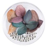 Cumpara ieftin Flori Uscate Unghii LUXORISE cu cristale - Floral Fairytale #04