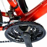 Bicicleta de munte Velors 2610A 26 frana disc 21 viteze rosualb