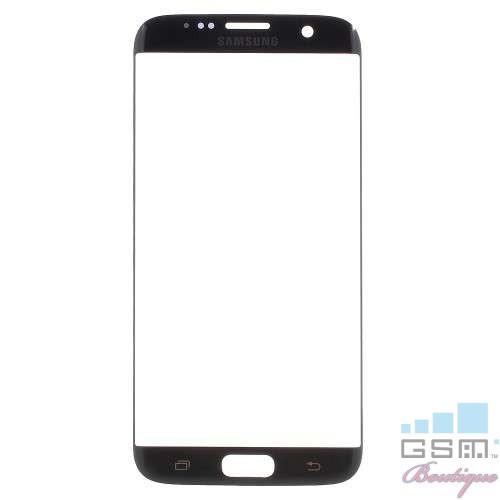 Geam Samsung Galaxy S7 Edge G935 OEM Negru
