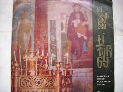 LITURGY-P.I.TCHAIKOVSKY*vinil foto