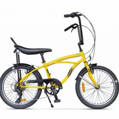 Bicicleta Pegas STRADA MINI GALBEN BONDAR 7S