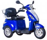 Cumpara ieftin Tricicleta electrica, tip scuter, pentru agrementsau dizabilitati ZT-15-B TRILUX ALBASTRU