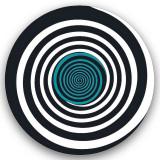 Abtibilduri roti, 2 buc / set, Nikidom Roller Circles